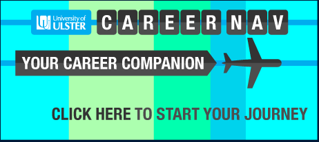 Image that reads: Career Nav - Your Career Companion. Click here to start your journey