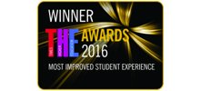 THE Awards 2016 Most Improved Student Experience