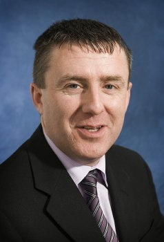 University of Ulster lecturer Rodney McDermott, who has been elected Vice Chair of Engineers Ireland, Donegal Region