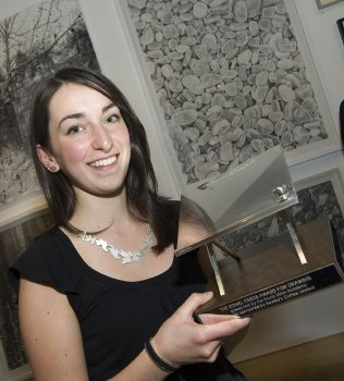 Second-year Silversmithing and Jewellery student Rebecca Hume